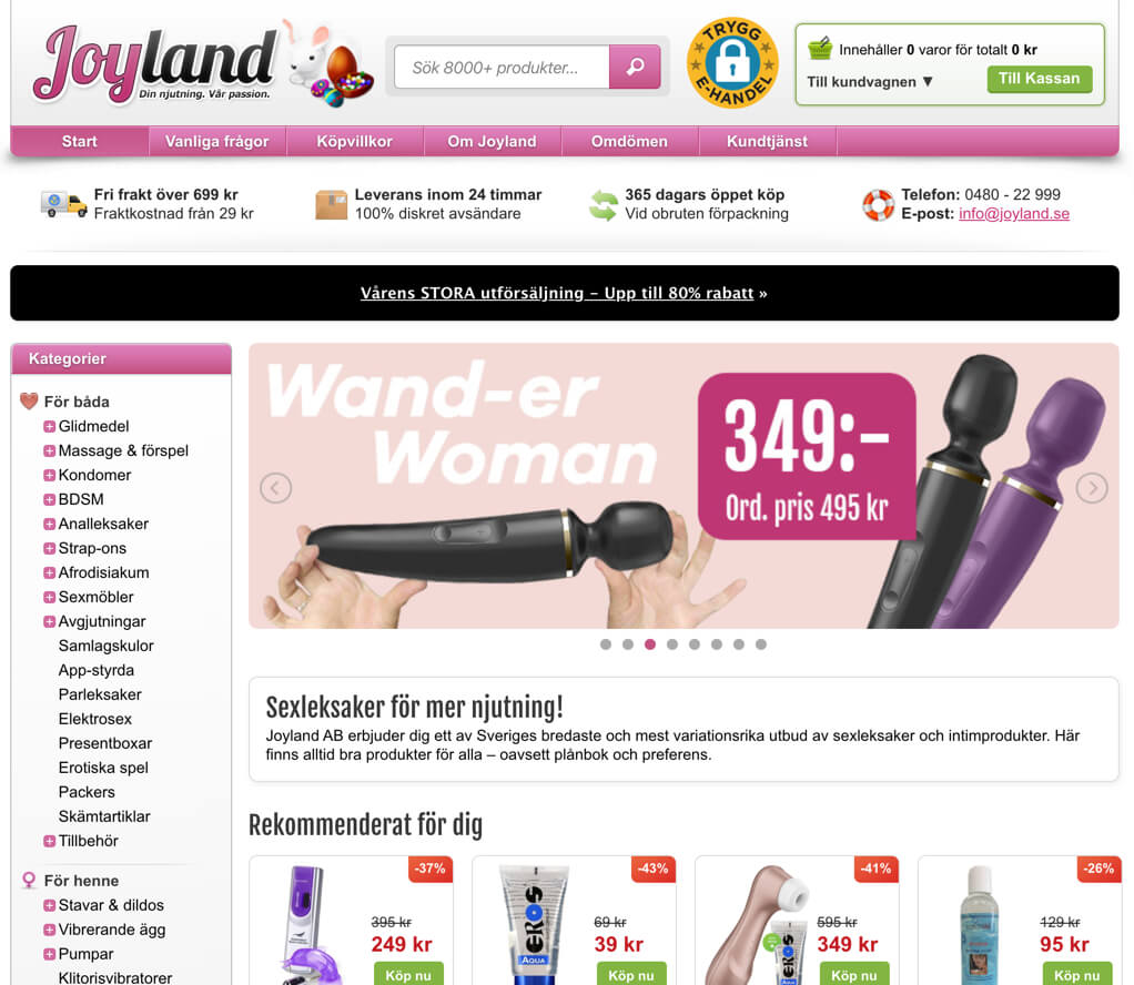 Joyland sexbutik