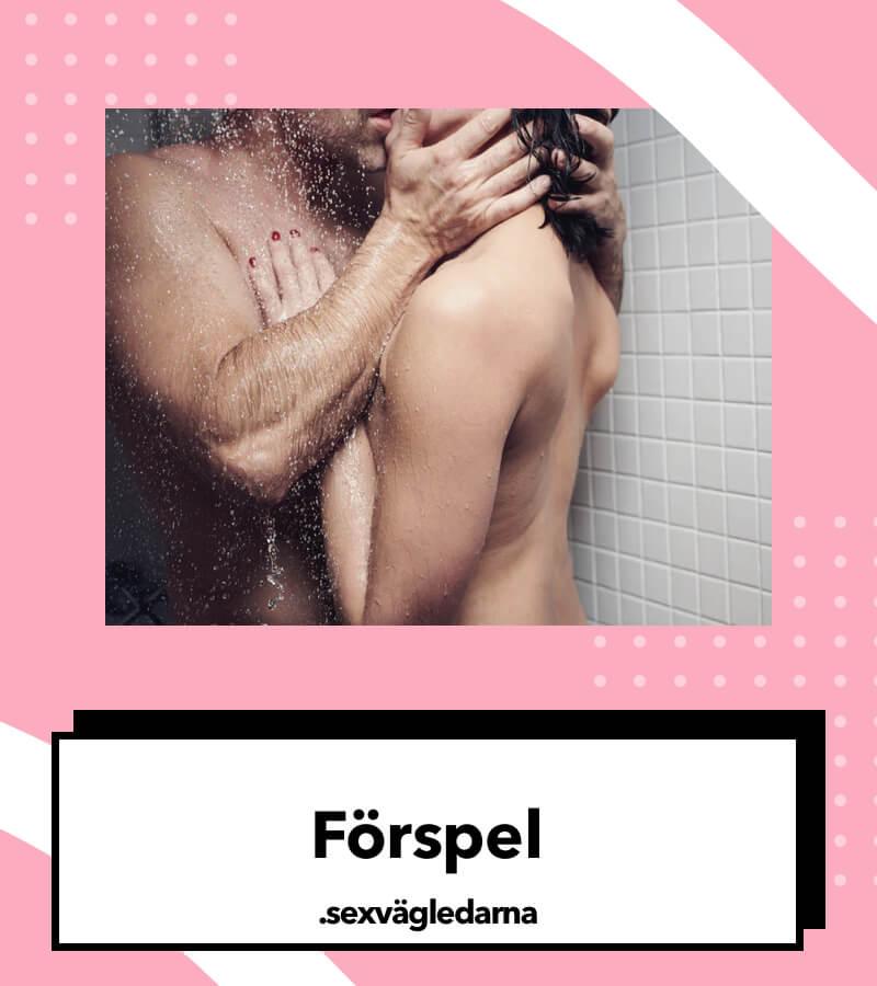 Förspel sex i duschen