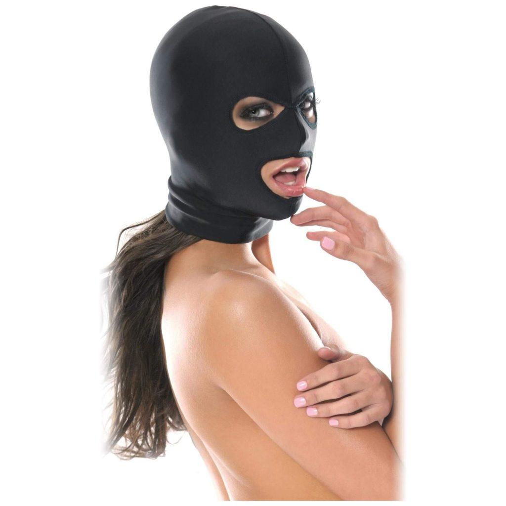 Spandex BDSM mask