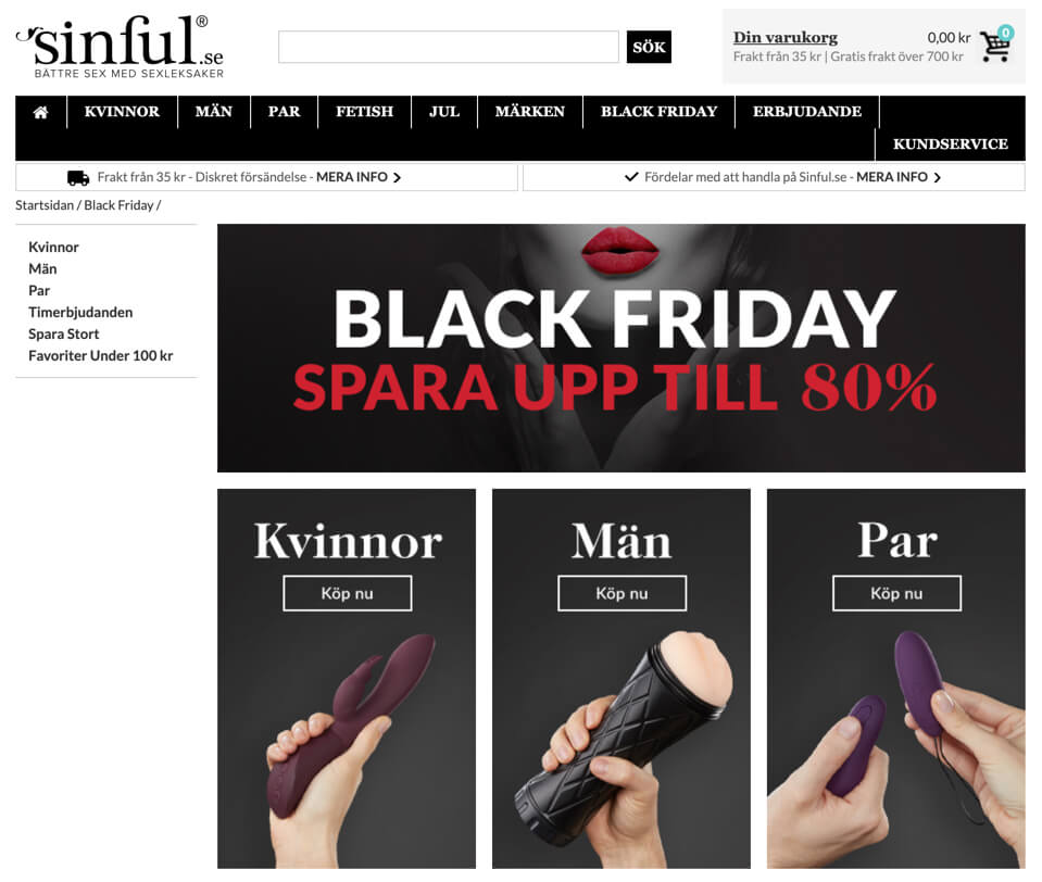 Black Friday Sinful